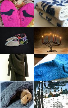 Beautiful Ways to Keep Warm by  Micol Kates from ArtnWhimsy