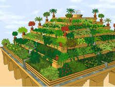 Bildergebnis für hängende gärten von babylon weltwunder