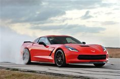 Hennessey Introduces Corvette HPE700 With Mean Burnout Video - Motor Trend WOT