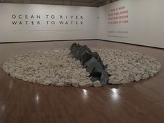 Richard Long@ Haunch of Venison - London     See the latest #Artistic shows in     New York at https://www.artexperiencenyc.com