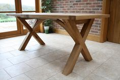 desk cross legs | Pictures of Dining Table Leg Designs