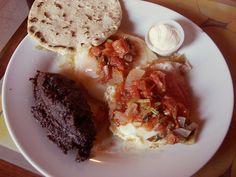 Recetas de Comida de Guatemala-Huevos A La Ranchera!!