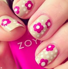 pretty nail art designs 2014
