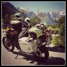 On the way from #Munich to #Albania via #Großglockner. Von #München nach #Albanien über den #Großglockner. http://ift.tt/2iEpl31 #Motorrad #motorbike #bmw #R1200GS #F800GS #2malweg #reise #travel