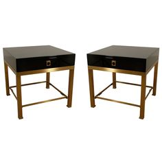 Maison Jansen end tables