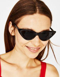 f46f66ebdad1 Cat s eye sunglasses - Bershka  fashion  product  summer  beach  pool