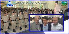 Glauco Rabelo presidente da Câmara Municipal prestigia a formatura dos militares que serão empossados em Campos Gerais