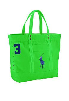 The essential Big Pony tote bag in durable cotton canvas is accented with heritage embroidery, making it the perfect casual carryall for easy travel. Ralph ...