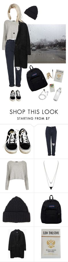 """""""Outfits for Uni #30"""" by seven-moths ❤ liked on Polyvore featuring Vans, Topshop, House of Harlow 1960, Forever 21, JanSport and Isabel Marant"""