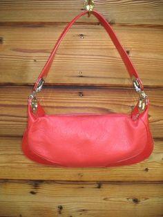Escada Medium Eluna Handbag Shoulder Retail Red Leather Hobo Bag 56% off  retail bf5beb7099de4