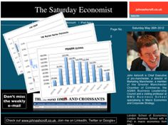 The Saturday Economist 26th May