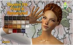 Angles Mesh by SkySims included. Mesh fixed by me. All natural Pooklet Colors+Io Colors+Time Bomb (White) in custom colors. Grey for elders. DESCARGA/D Sims 2 Hair, Sims Cc, Angles, Living Rooms, Mesh, Natural, Grey, Colors, Fashion