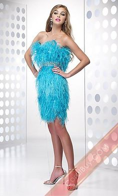 LOVE the color and design, but not the feathers