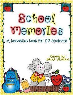 School Memories Keepsake Book {K-2}