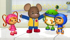 Team Umizoomi | Muis in de Ruimte - Kids-Tube.nl