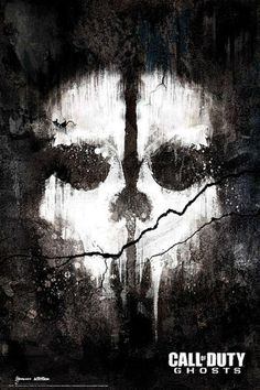Call of Duty Ghosts : Skull - Maxi Poster 61cm x 91.5cm new and sealed