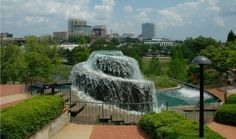 Finlay Park in downtown Columbia