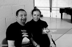 : Maurice Bejart and Sylvie Guillem in Lausanne...