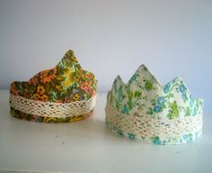 I made birthday crowns for my girls last year.  I had intended for them to be a special birthday thing, that we got out only once a year,...