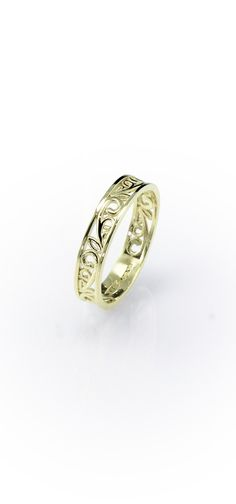 Welsh Filigree Ring in 9ct Yellow Gold #welsh #jewellery #ring