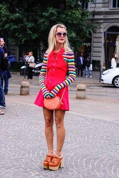 Street Style at Milan Fashion Week Spring/Summer 2015