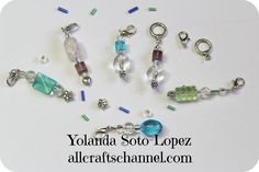 How to make Crochet and Knit Stitch Markers