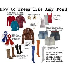 [DOCTOR WHO] Get the look ! How to dress like Amy Pond