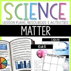 States of Matter Science Activities by Priceless Ponderings Science Classroom, Teaching Science, Science Activities, Vocabulary Word Walls, Vocabulary Cards, Science Lesson Plans, Science Lessons, 3 States Of Matter, What Is A Scientist