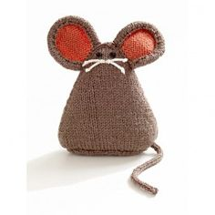 Lion Brand Vanna's Choice Baby City Mouse Toy