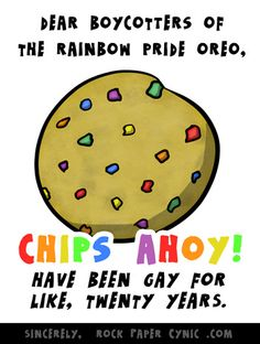 Dear Boycotters of the Rainbow Pride Oreo, You Are Behind the Times - Rock, Paper, Cynic