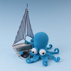 Dr Octvius the Crochet Octopus by Susan Yeates