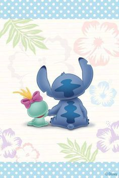 Image de cute, disney, and stitch