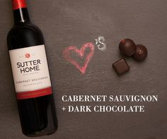 Sutter Home wine hearts chocolate, and you will too when you try these perfect pairings.
