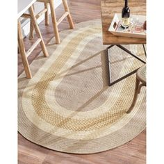 nuLOOM Handmade Reversible Braided Rust Lodge Rug (5' x 8' Oval) - Overstock Shopping - Great Deals on Nuloom Round/Oval/Square