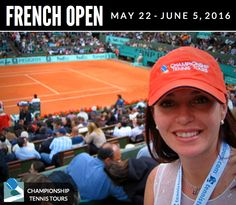 2016 #FrenchOpen Tickets - It's going to be epic! Book your tickets now!!! ---> http://www.tennistours.com/french-open/