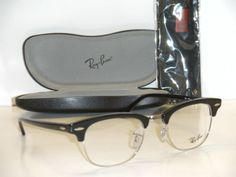 ce3a9f5b7c Ray Ban CLUBMASTER 5154 RX 5154 2000 49MM BLACK EYEGLASSES RX READY FRAME  NEW
