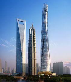 Shanghai Tower #Foster #Norman Pinned by www.modlar.com