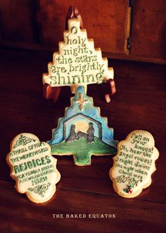 O Night Divine Christmas Cookie Set