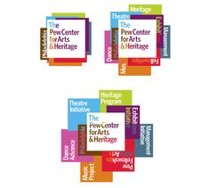 Pew Center for Arts & Heritage Logo and Identity