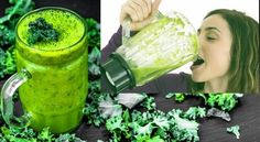 Do you want to lose weight with green smoothie? Act now and discover the best kale diet for weight loss and kale health benefits to 15 pounds and more