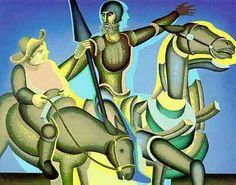 Cuadro Arnold Belkin (1930-1992). Pintor mexicano del nuevo muralismo.