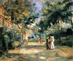 Pierre-Auguste Renoir - The Gardens in Montmartre