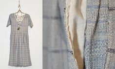 ace&jig fall13 gallery dress in indigo twist at Les Pommettes