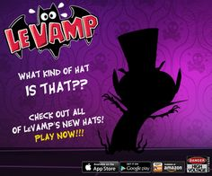 Le Vamp will soon have HATS! Check out this unreleased art! high-voltage.com/