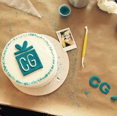 Cake decorating is always a party favorite! #Fondant for the win! #CommuniGiftBirthdays