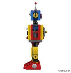LEGO Ideas - Clockwork Robot