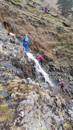 Ghyll Scrambling at Stickle Ghyll in Coniston with Path to Adventure.