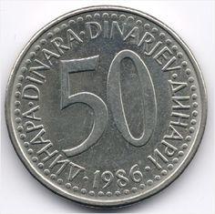 Yugoslavia 50 Dinars 1986 Veiling in de Joegoslavië,Europa (niet of voor €),Munten,Munten & Banknota's Categorie op eBid België