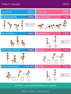 Week 21 Monday #ClippedOnIssuu from Bikini Body Guide two