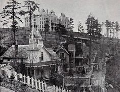 Most Haunted Hotel in America 1886 Crescent Hotel Eureka Springs, Arkansas . It still stands today and they have ghost tours daily.